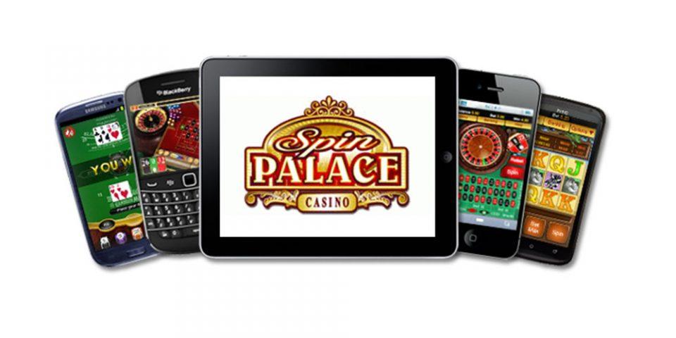 Spin Palace mobila kasino